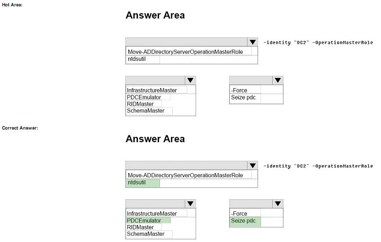 pass4itsure 70-742 question