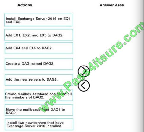 Pass4itsure Microsoft 70-345 exam questions q6