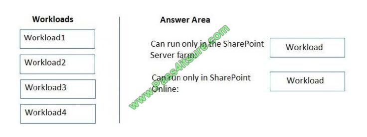 Pass4itsure Ms-301 exam questions-q10